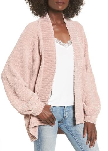 sweater cardi cami